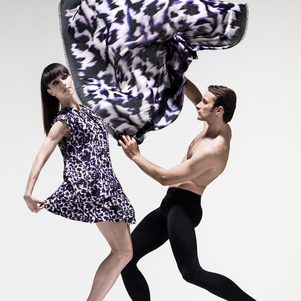Modestrecke mit Ballett Tänzern der Wiener Staatsoper