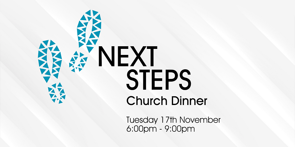 Next Steps: Church Dinner