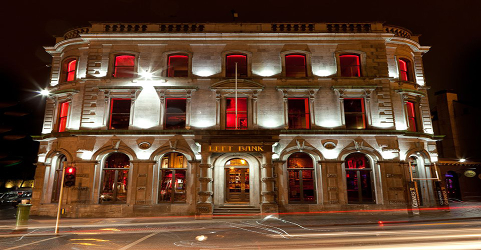 Eat and Drink in Kilkenny at Left Bank - Front