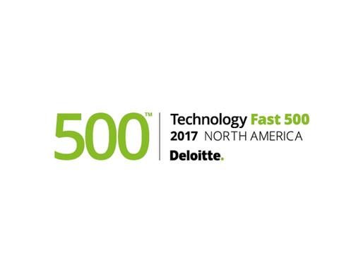 Deloitte Technology Fast 500™ 2017 Award