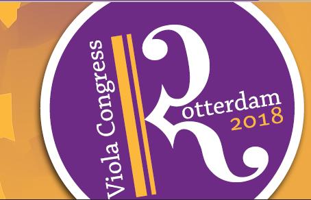 45º Congresso Internacional de Viola, Roterdão 2018
