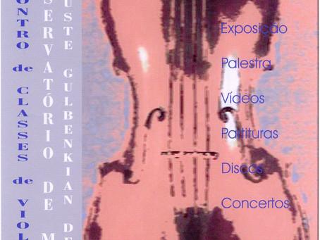 1º Encontro de Violas d'arco Braga 2001