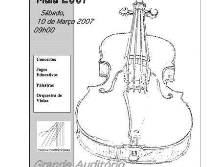 4º Encontro de Violas d'arco Maia 2007