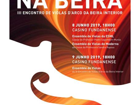 3º Encontro de Violas d'arco na Beira Interior 2019