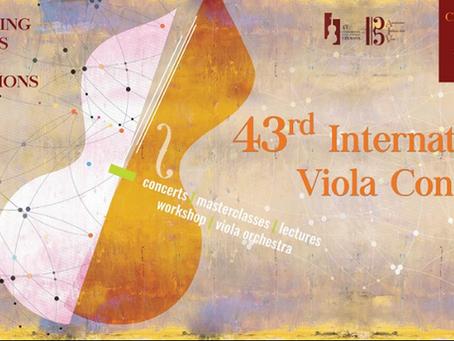 43º Congresso Internacional da Viola Cremona 2016