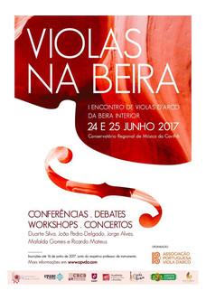 2017 Violas na Beira - Cartaz