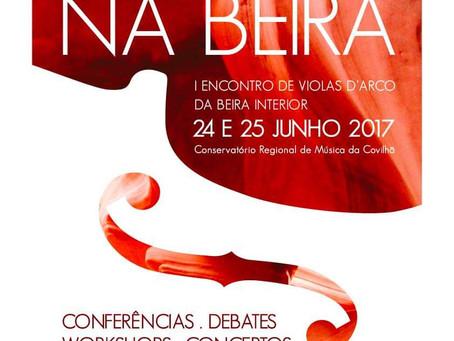1º Encontro de Violas d'arco da Beira Interior 2017