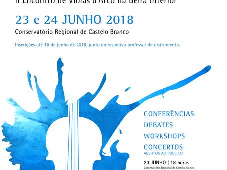 2º Encontro de Violas d'arco na Beira Interior 2018