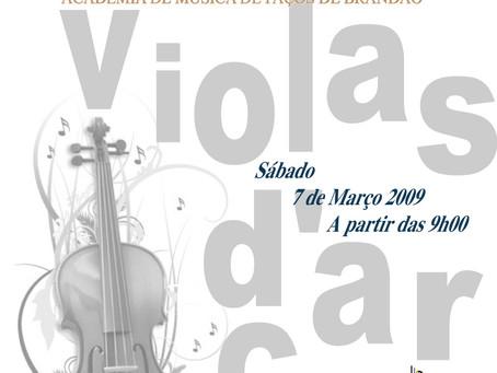5º Encontro de Violas d'arco Paços de Brandão 2009