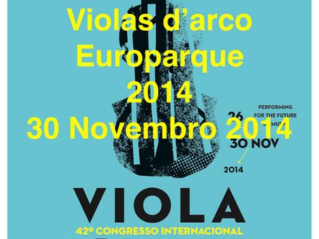 8º Encontro de Violas d'arco IVC/Europarque 2014