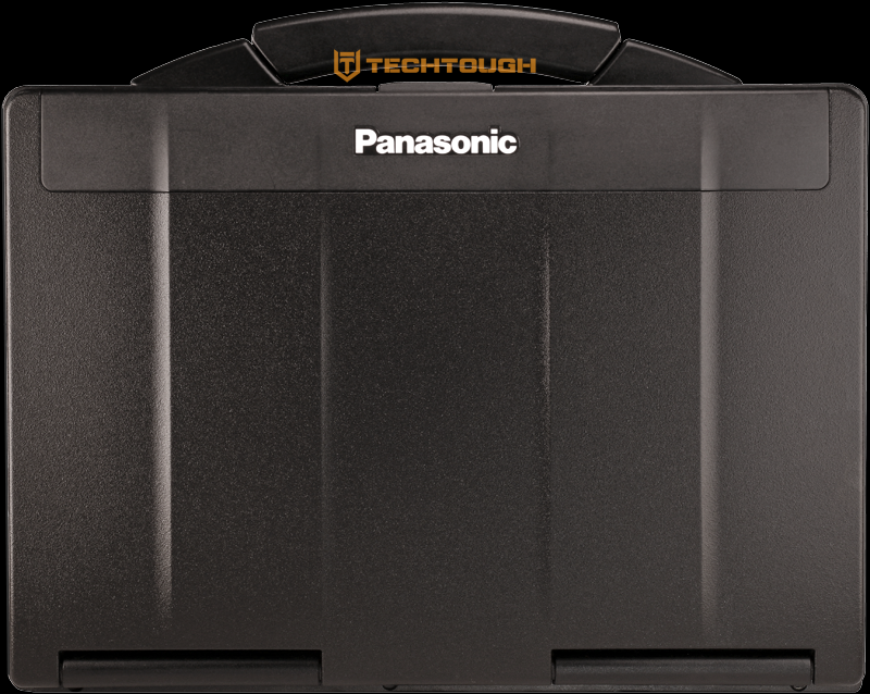 Black Panasonic Toughbook CF-53 laptop