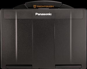 Black Panasonic Toughbook CF-53 laptop