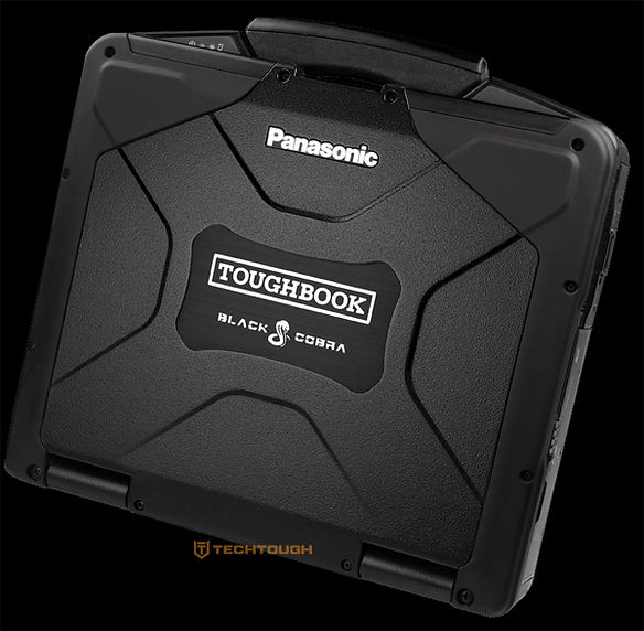 Black Panasonic Toughbook