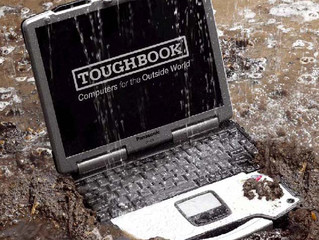Toughbook Torture Test - PART 2 - Water, dirt, dust and sand resistant!