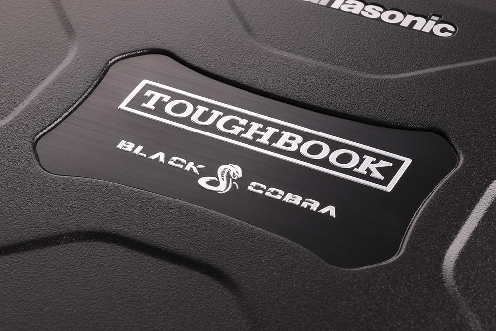 Black Cobra Toughbook lid label CF-19 CF-30 CF-31