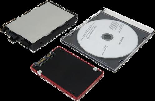 Hard drive + Caddy + Disc: Toughbook CF-53