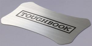 Aluminum Panasonic Toughbook lid label CF-19 CF-30 CF-31
