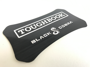 Aluminum lid label for Black Cobra Toughbook CF-19 CF-30 CF-31