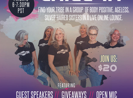 """#DYEfree2BME Hosts """"Chill-In with the High Vibe Silver Sister Tribe"""" in Private On-line Lounge"""