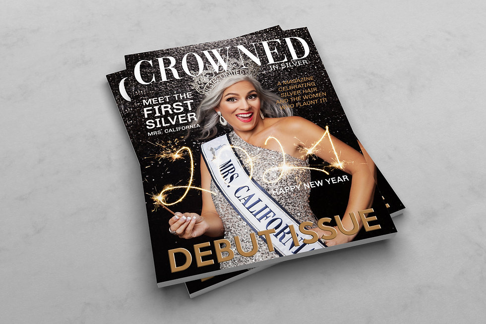 CROWNED FIRST ISSUE JANUARY 2021 MAGAZIN