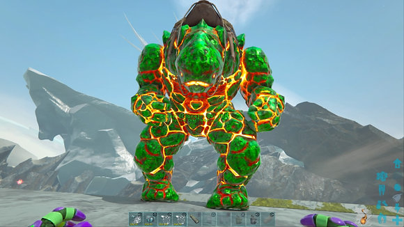 180 Green X Rock Elemental PS4 PVE Official Dedicated Server