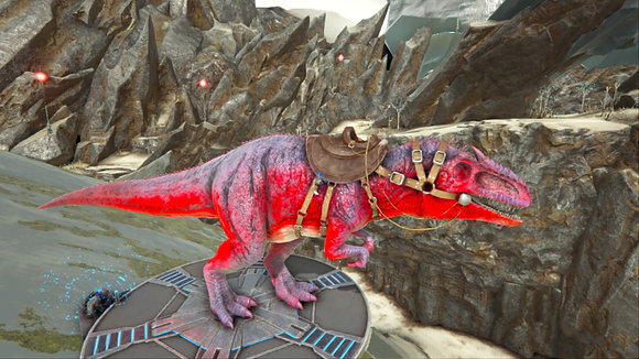 139 Red+Grey 575 Melee Male PS4 PVE OFFICIAL DEDICATED SERVER