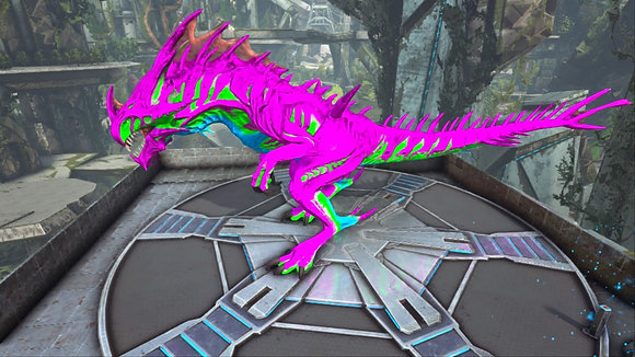 193 Pink, Cyan,Green+Blue Reaper PS4 PVE OFFICIAL DEDICATED SERVER