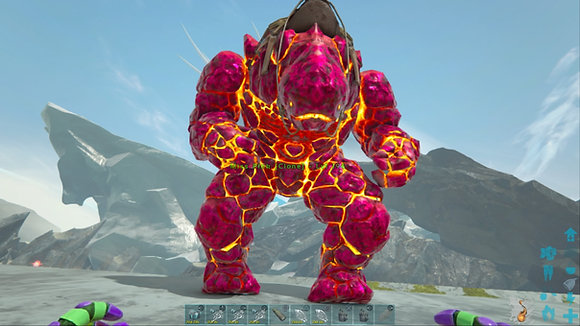 194 Pink X Rock Elemental PS4 PVE Official Dedicated Server