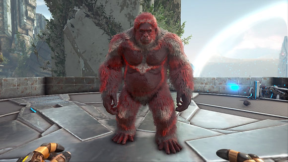 250 Gigantopithecus Red Female PS4 PVE OFFICIAL DEDICATED SERVER
