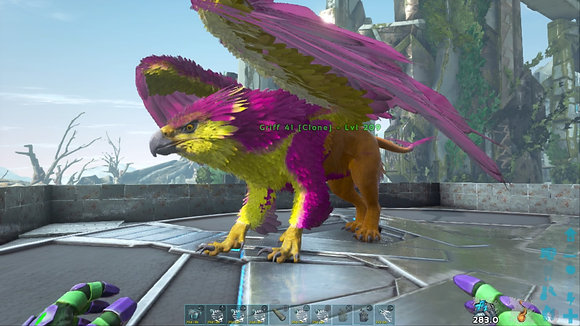 209 Yellow, Pink+ Orange Griffin OFFICIAL DEDICATED SERVER PS4 PVE