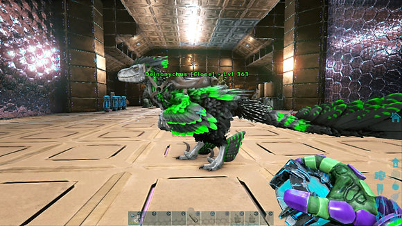 363 Male Clone Deinonychus 925 Base Melee