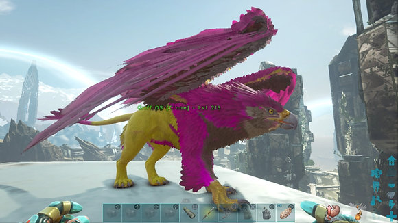 215 Yellow+Pink Griffin PS4 PVE OFFICIAL DEDICATED SERVER