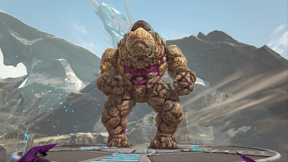 217 rock elemental male PS4 PVE OFFICIAL DEDICATED SERVER