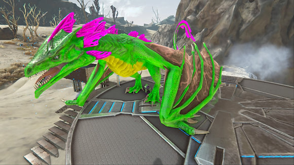 190 Joker Lightning Wyvern PS4 PVE OFFICIAL DEDICATED SERVER