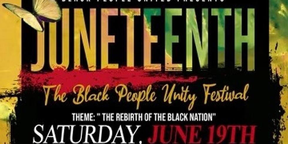 CHL-ATL Pop-up: The Black People Unity Festival (Juneteenth Celebration)