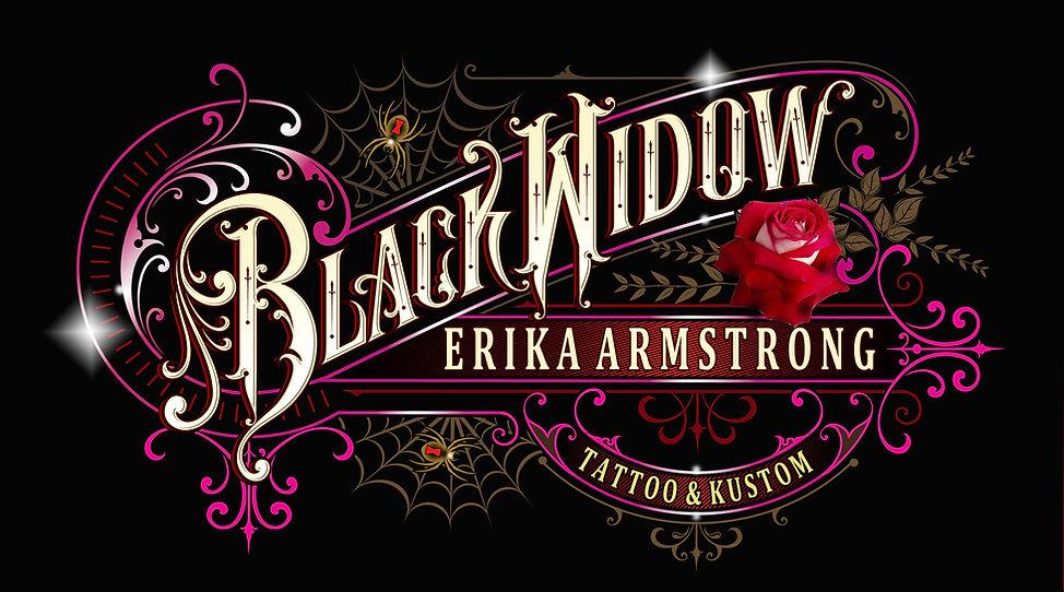 Black Widow Tattoo Erika Armstrong