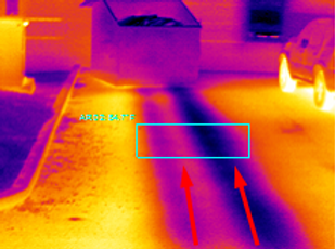 Infrared Pipeline Leak Location