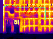 Infrared CMU Masonry Wall Grout