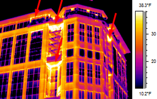 Infrared Building Energy Loss