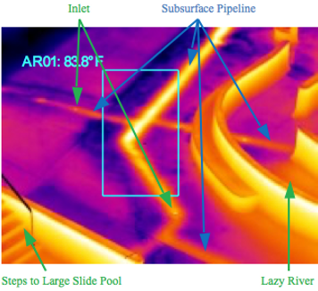 Swimming Pool Leak Void Infrared