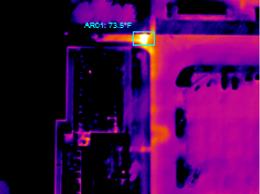 Infrared Aerial Steam Line Leak Detection