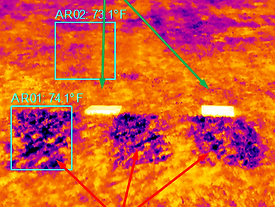 Infrared Grave Cemetery Location