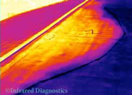 Infrared Roof Moisture Inspection
