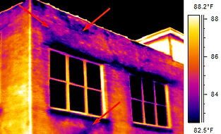 Infrared Building Envelope / Energy Loss