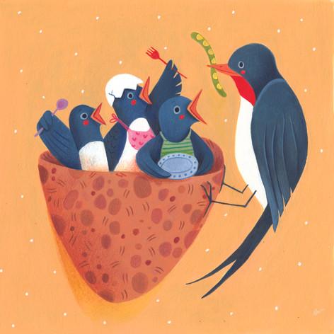 Swallow's nest