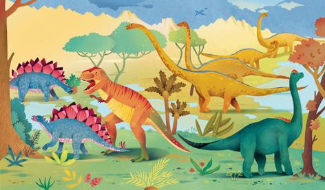 Dinosaurs book