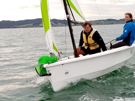 WELCOME TO ROGER, OUR NEW SAILING INSTRUCTOR AND LOOKING BACK OVER THE LAST WEEK