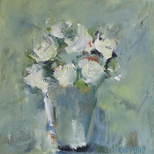 Rosemary Gifford    White Roses