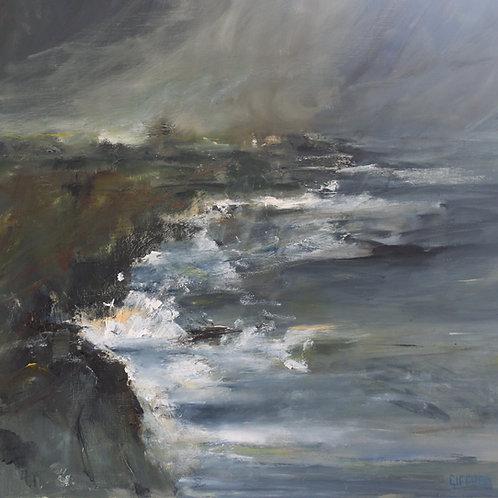 Rosemary Gifford    North Antrim Coast Winter Evening
