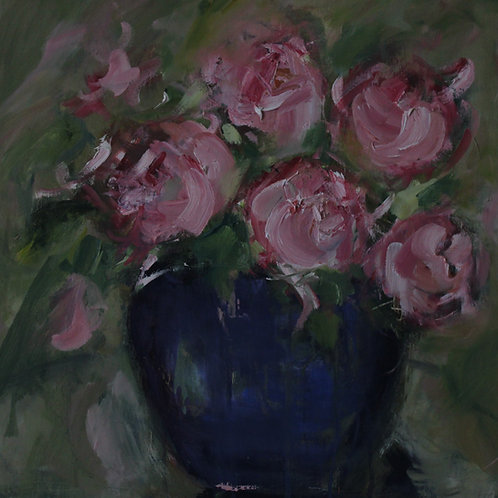 Rosemary Gifford    Pink Roses
